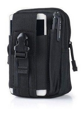 bolsa militar para el celular sistema táctico negra full