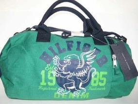 124a689a4 Bolsa Tommy Hilfiger Mini Duffle Bag Pequena Original - Calçados ...