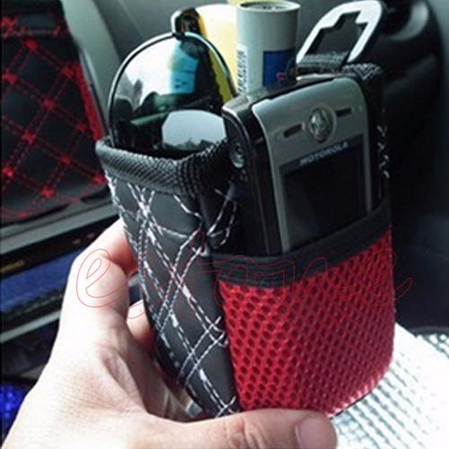 bolsa mini organizadora para auto, cel, llaves cigarros etc