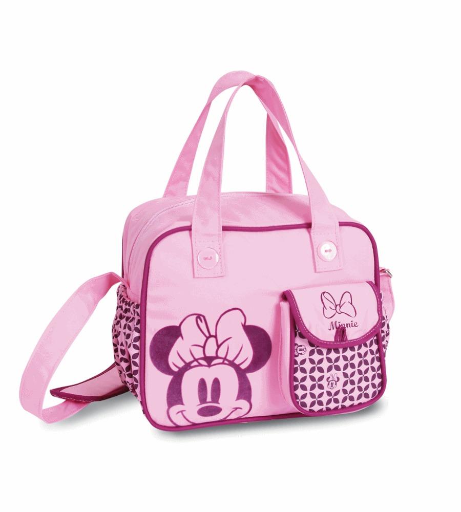 84bfd202b1 Bolsa Minnie Rosa Luxo C  Trocador - 02193 - Babygo - R  128