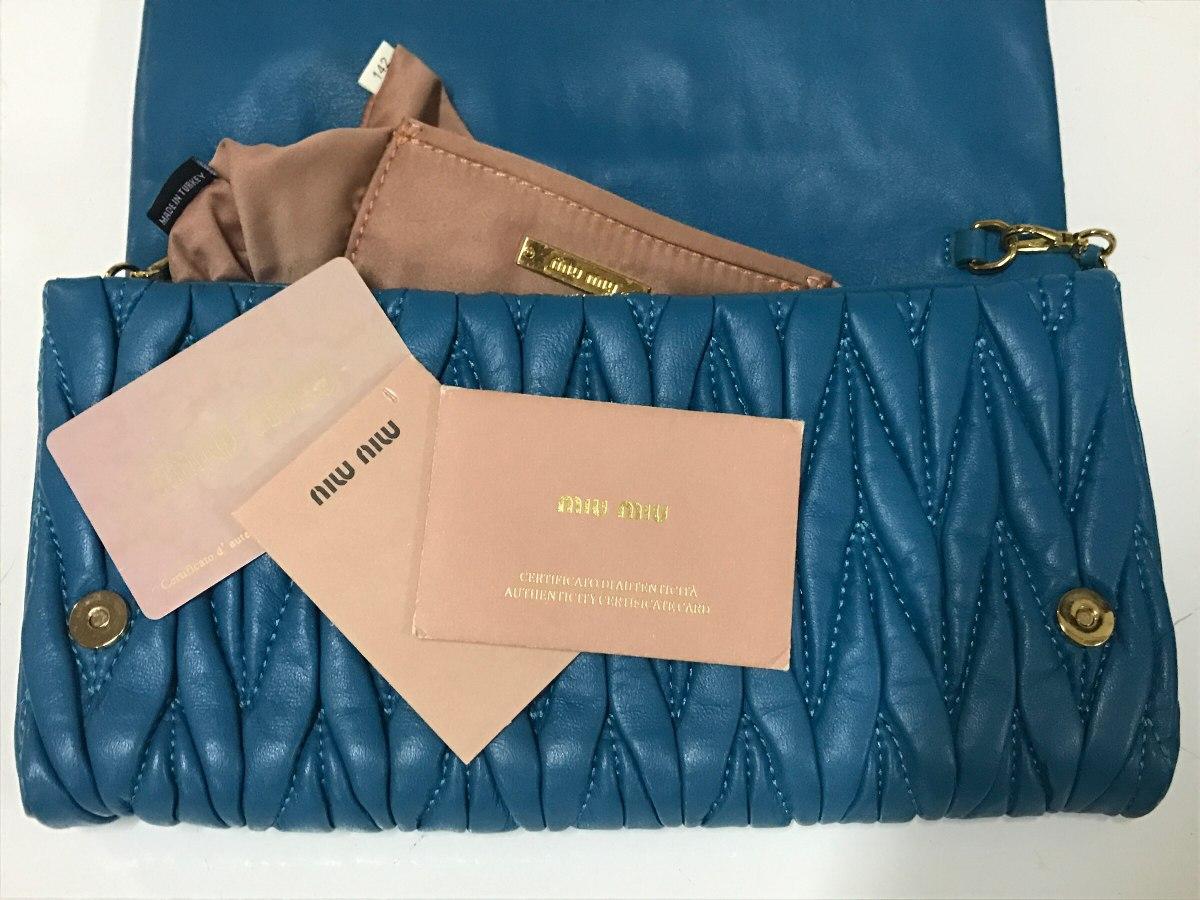 Bolsa Miu Miu Original - R  2.900,00 em Mercado Livre b99ea27c3f