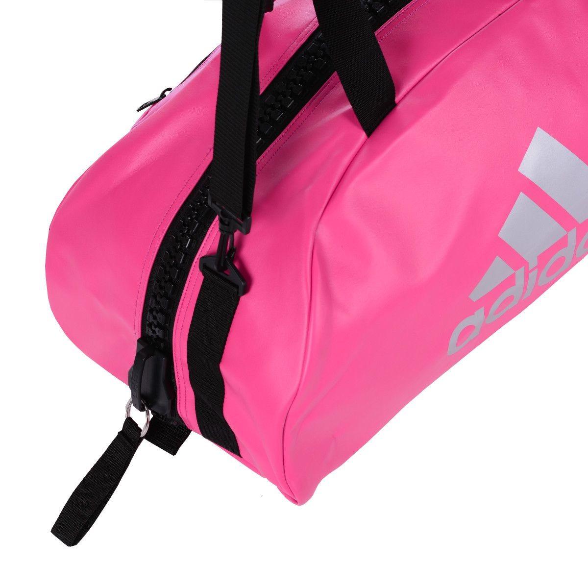 6c18569db Bolsa Mochila adidas Karate 2in1 Pu Rosa/prata - R$ 454,90 em ...