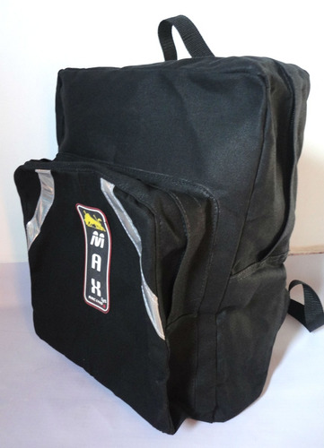 bolsa mochila bag de lona motoboy reforçada g max racing