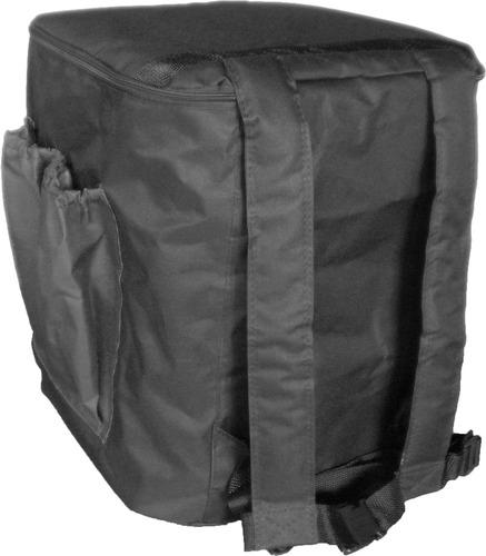 bolsa mochila com isopor entrega 24 marmitex de alumínio nº8