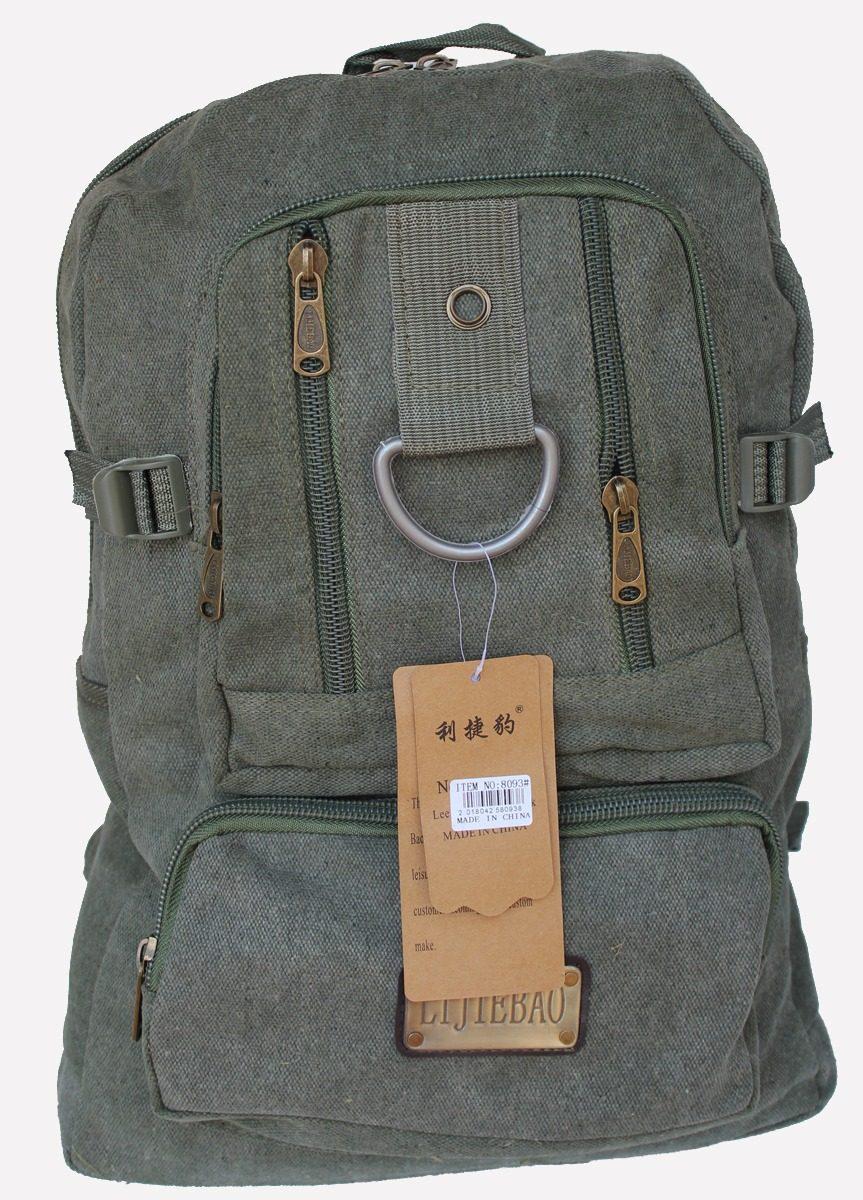 da9eb4dcf bolsa mochila de lona viagem reforçada escolar resistente. Carregando zoom.