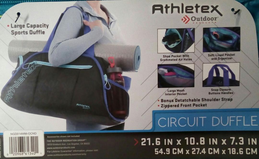 205d3891f041 bolsa mochila deportiva gimnasio athletex circuit ngd014. Cargando zoom.