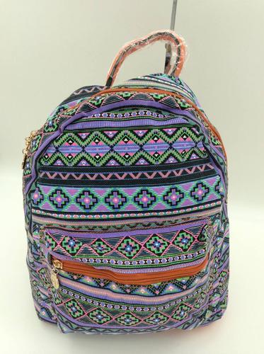 bolsa mochila feminina com estampa de coruja pronto entrega