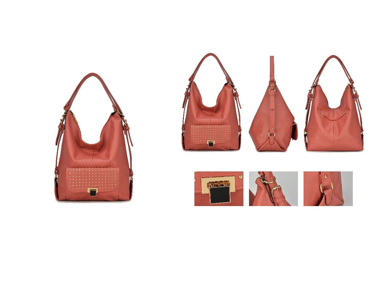 8886335d1 Bolsa Mochila Feminina Couro Sintetico - R$ 79,99 em Mercado Livre