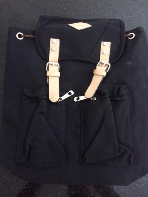 Bolsa Feminina De Costas : Bolsa mochila feminina de costa preta r em