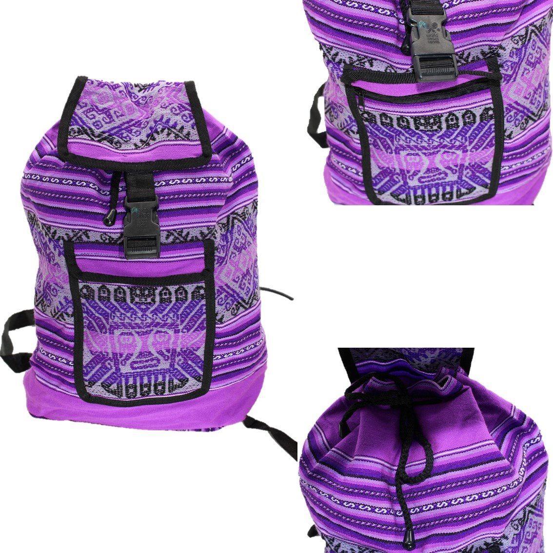 258ef2c74 bolsa mochila feminina importada tecido etnico peruana. Carregando zoom.