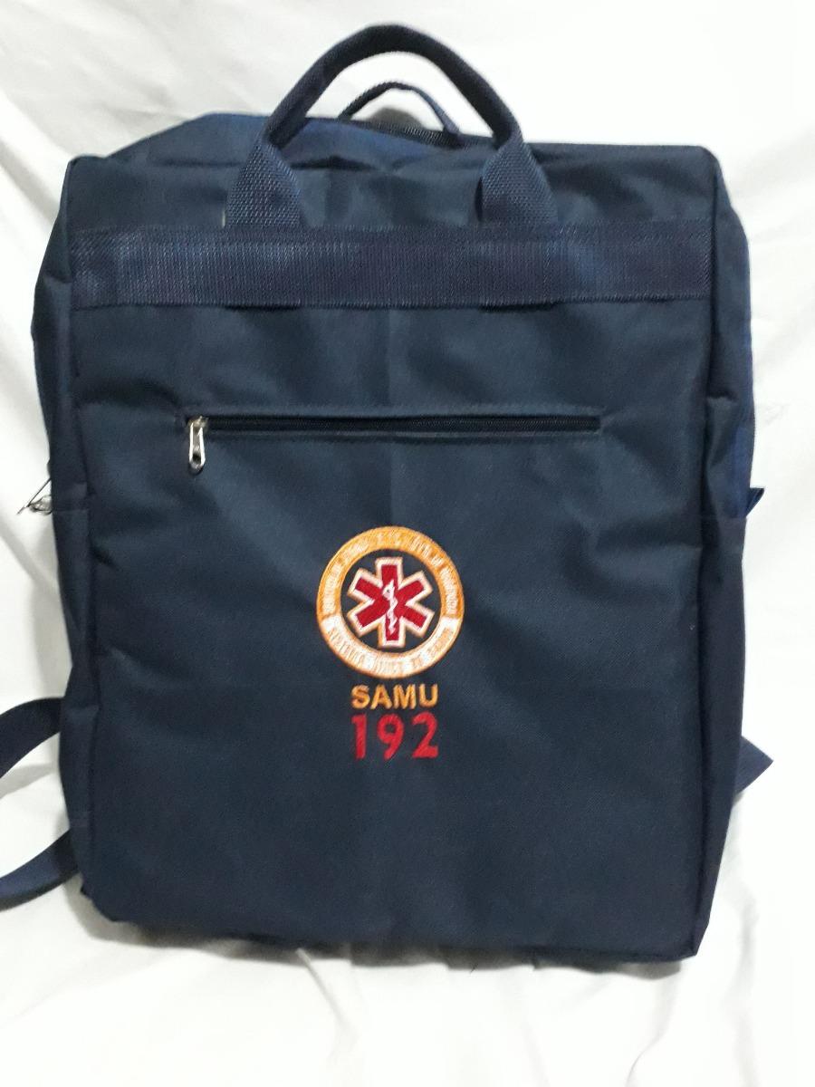 f77d45c1a bolsa mochila grande samu enfermagem personalizada com nome. Carregando  zoom.