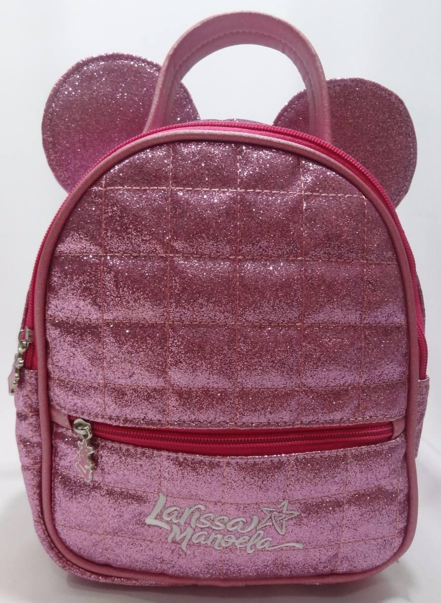 5053fc576f46f bolsa mochila infantil larissa manoela para criança original. Carregando  zoom.