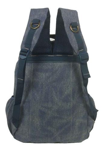 bolsa mochila kvn notebook,100% lona, esporte,viagem,escolar