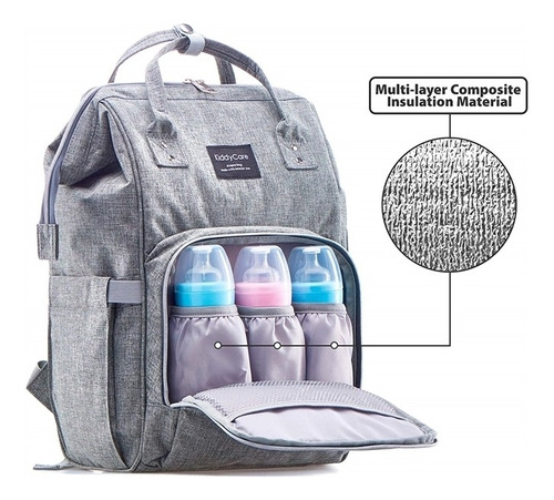 bolsa mochila maternidade bebe multifuncional impermeavel t