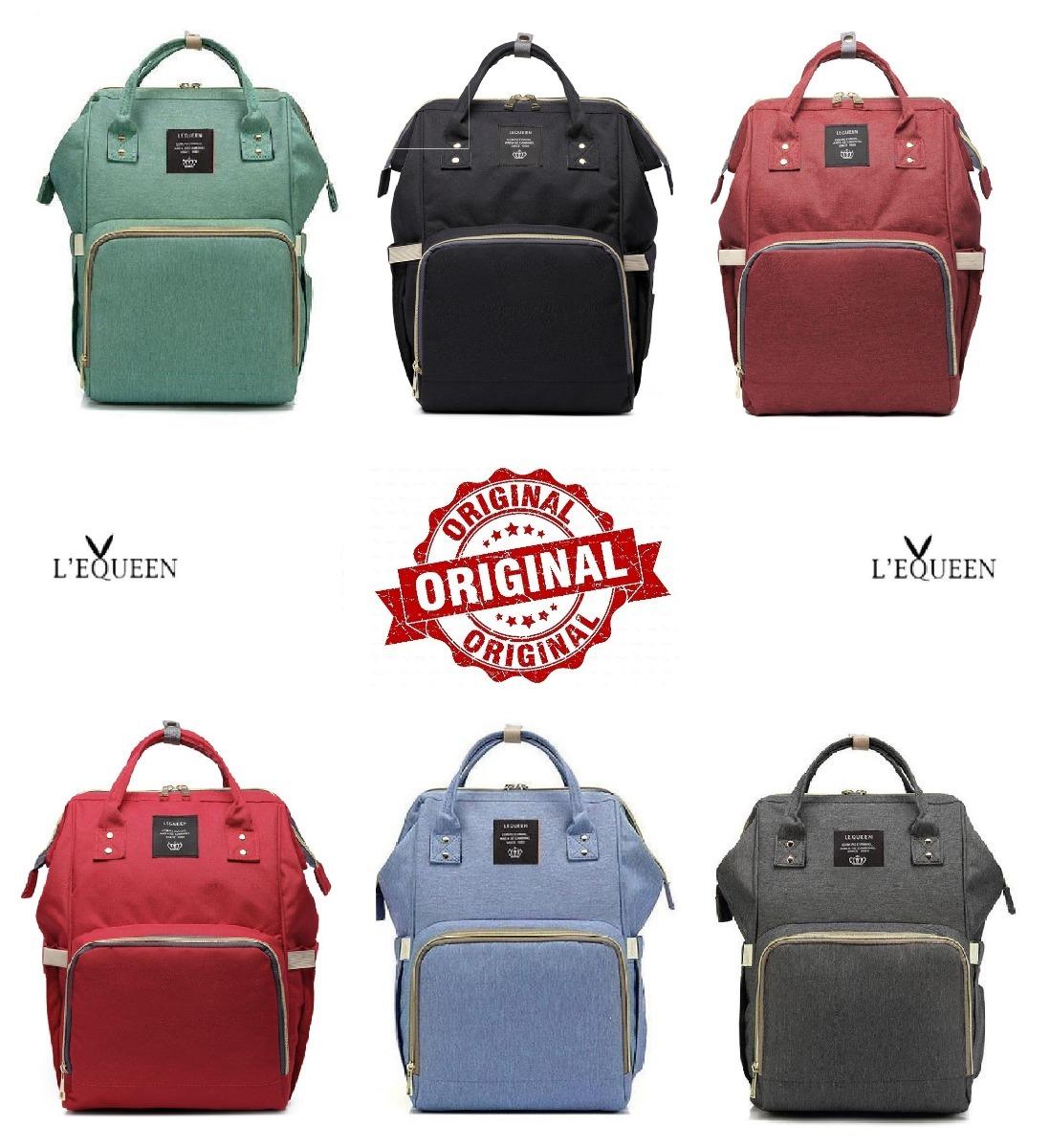 f31c1b17b bolsa mochila maternidade lequeen em promoção pronta entrega. Carregando  zoom.