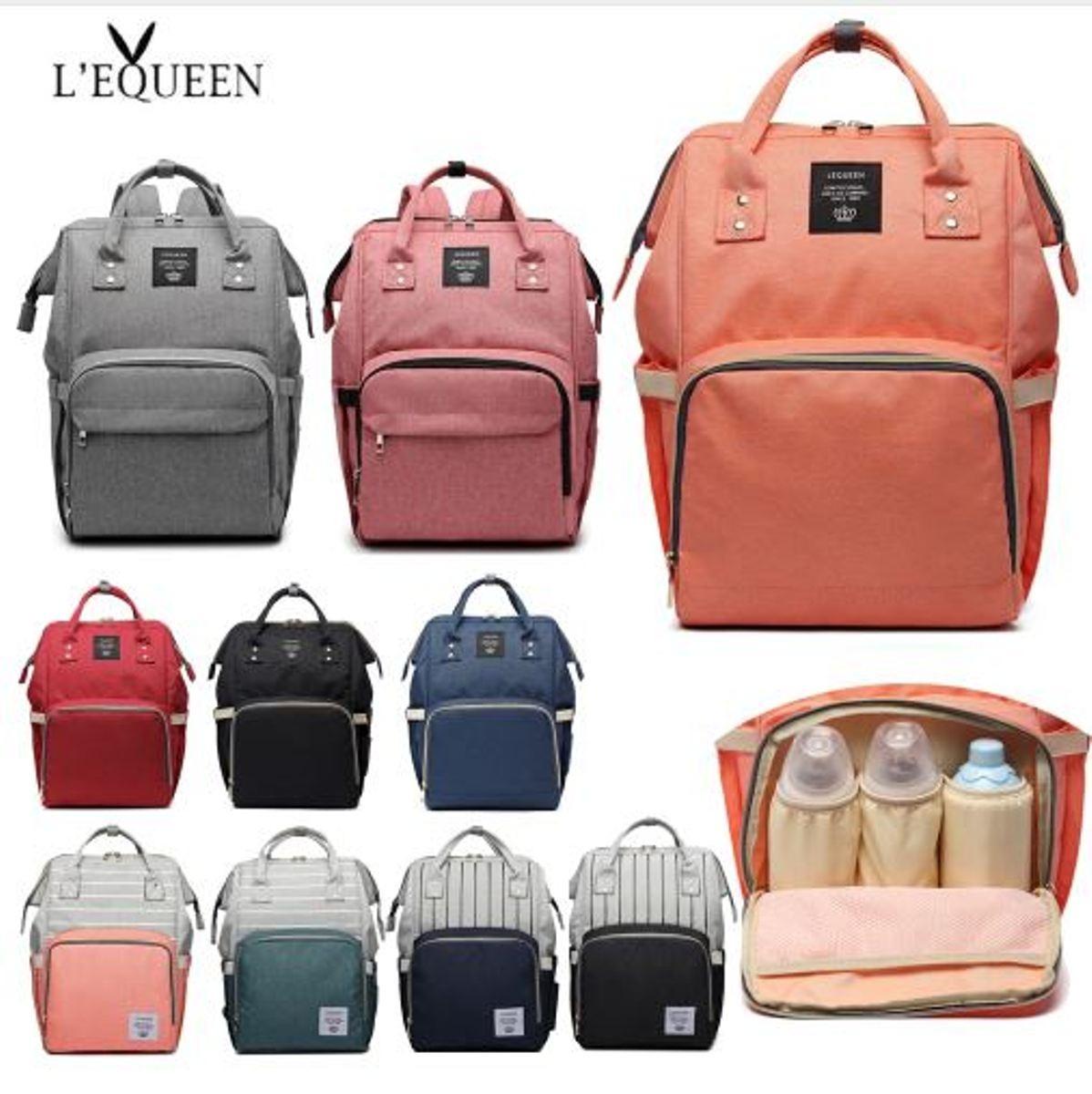 499b0ea52 bolsa mochila maternidade lequeen mala barata melhor oferta. Carregando  zoom.