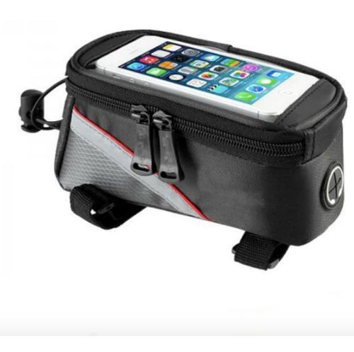 bolsa mochila porta celular bicicleta bici estuche maletin