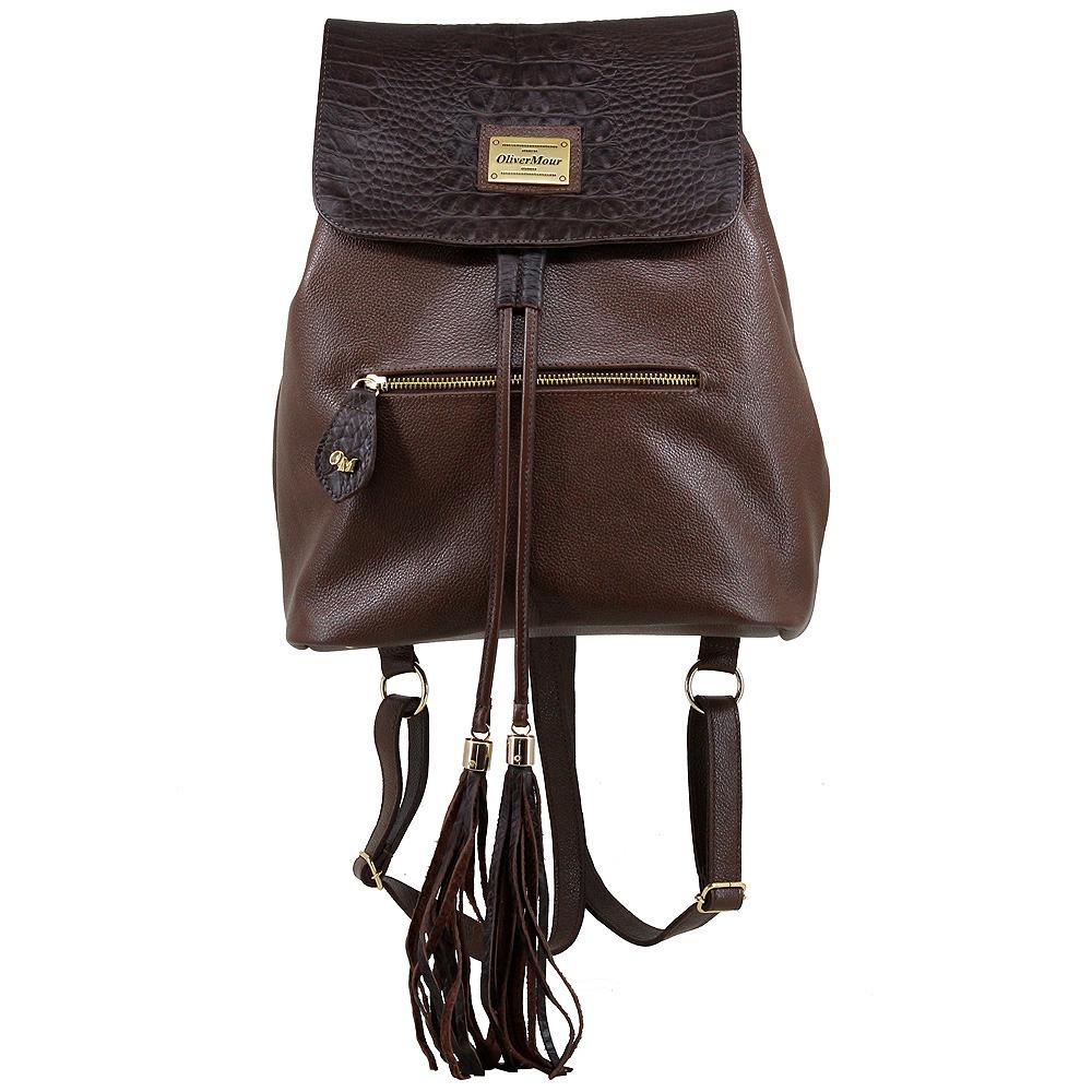3edf429d0 bolsa mochila saco feminina couro legitimo prática moderna. Carregando zoom.