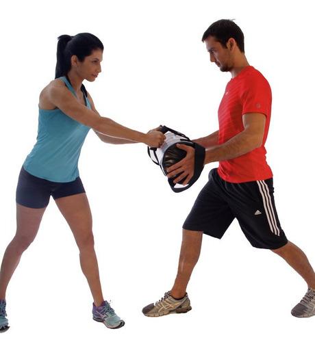bolsa multifuncional com pesos 5 kg - acte sports