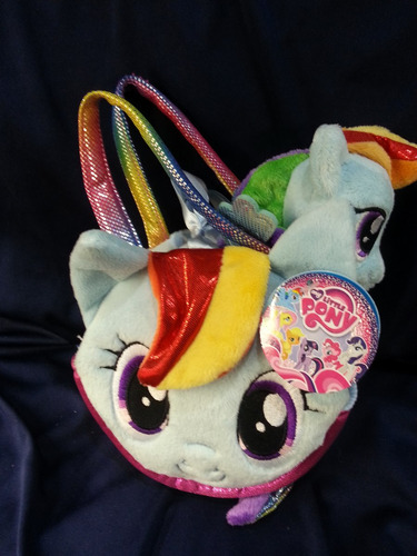 bolsa my little pony  20cm rainbow dash