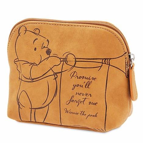 fa1bd0b70 Bolsa Necessarie Disney Store Original Urso Pooh Couro Fake - R$ 68 ...