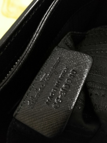bolsa negra salvatore ferragamo autentica super chic