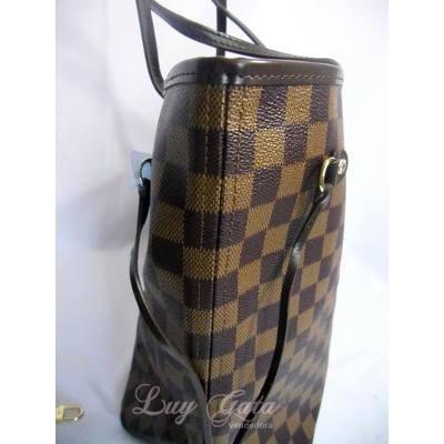 792a1df6b Bolsa Neverfull Damier Ebene C/ Pochette Top Premium Mm U - R$ 730 ...