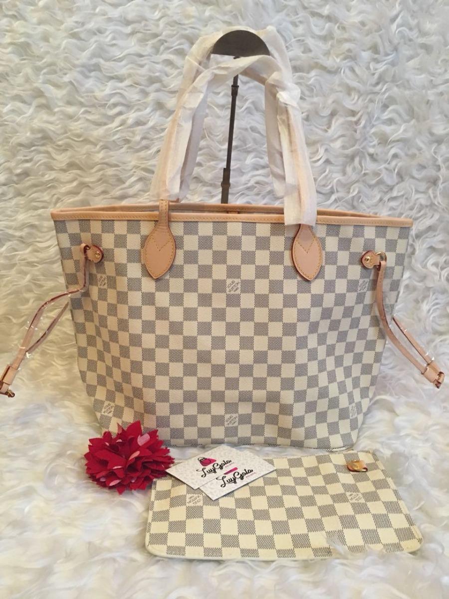 16937ce0a Bolsa Neverfull Ebene Azur Mm Alinhada Premium Linda!!! - R$ 7.600 ...