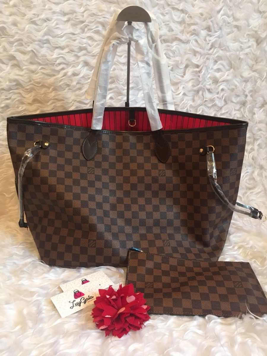 67d307cdc Bolsa Neverfull Ebene Gm Alinhada Premium Perfeita!!! - R$ 760,00 em ...
