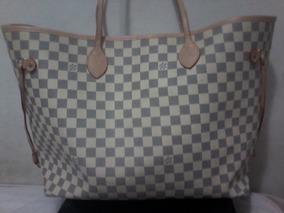 3c71cbb34 Bolsa Chan Nell - Bolsas Louis Vuitton de Couro Sintético Branco em ...