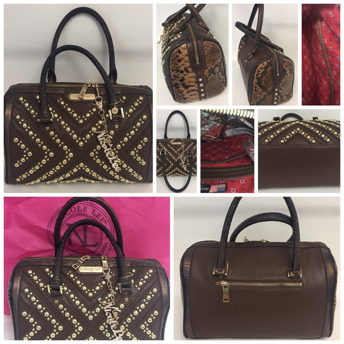 61a0c5239 Bolsa Nicole Lee Original Hermosa - $ 750.00 en Mercado Libre
