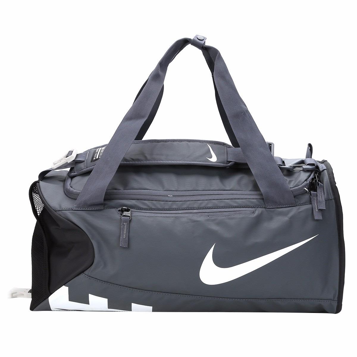 984fe5332 Bolsa Nike Alpha Adapt Crossbody Duffel Cinza 37l - R$ 169,00 em ...