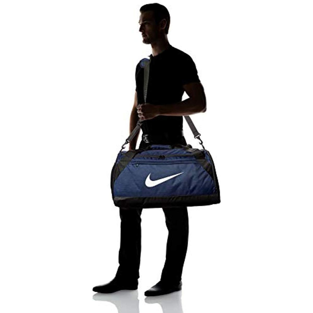 Nike Small Navy 6 X Bolsa Midnight Brasilia Duffel 3AL5Rj4