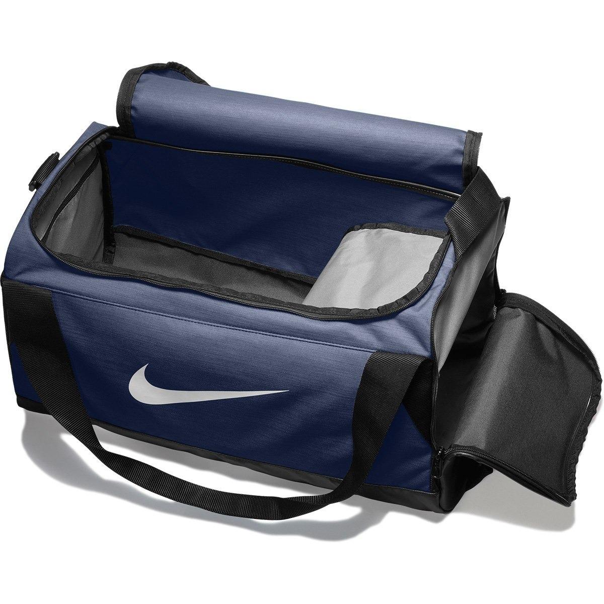 af34d8c4d Bolsa Nike Brasilia Duffel Small (p) - Azul Marinho - R$ 139,90 em ...