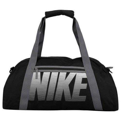 d33e3f7c631bc Bolsa Nike Gym Club Cinza Preta - R  149