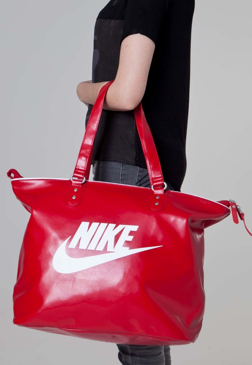 bolsa nike heritage si tote vermelha original. Carregando zoom. b1374edf8d45b