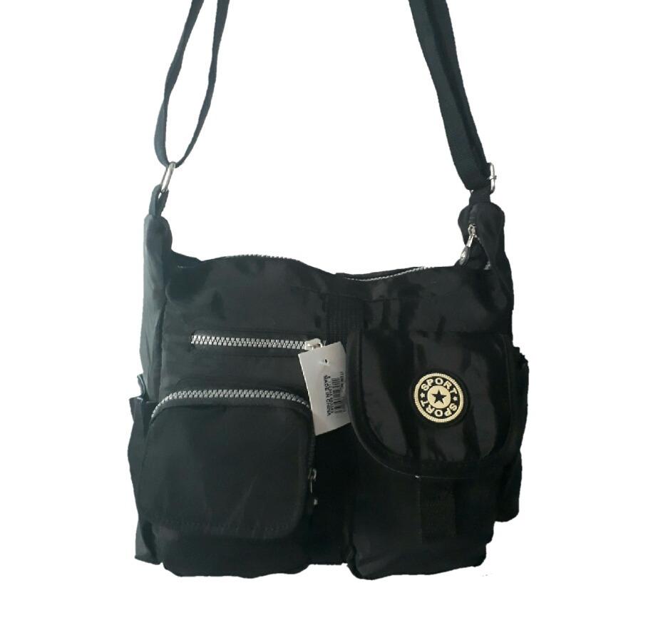 dbe50038c bolsa nylon feminino tiracolo transversal trabalho escola. Carregando zoom.