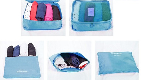 bolsa, organizador ropa, viaje