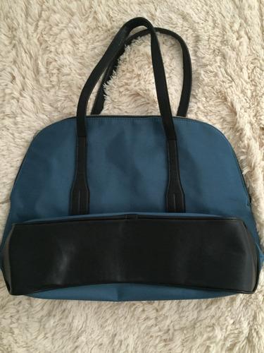 bolsa original dsw sacola viagem em couro & tecido importada