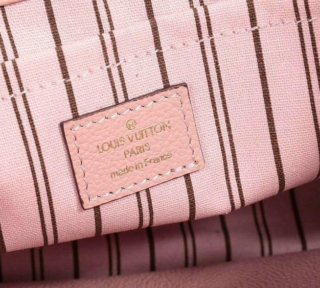 58190bab57 Bolsa Original Louis Vuitton Montaigne Mm Empreinte Rosa