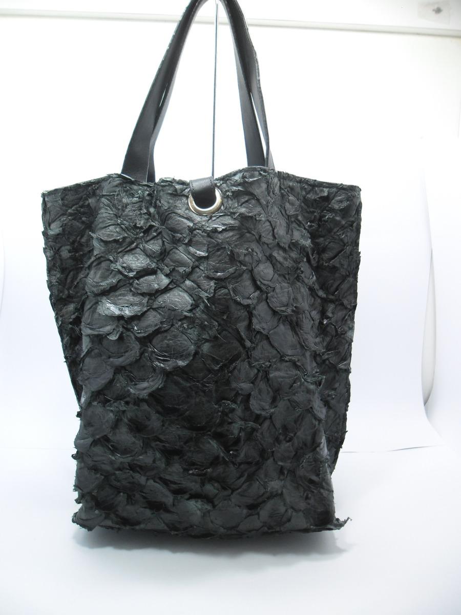 Bolsa De Couro Usada : Bolsa osklen de couro pirarucu r em mercado livre