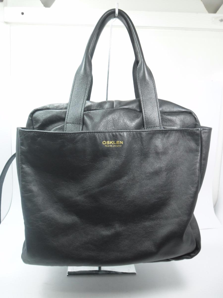 Bolsa Feminina Osklen : Bolsa osklen medium couro r em mercado livre