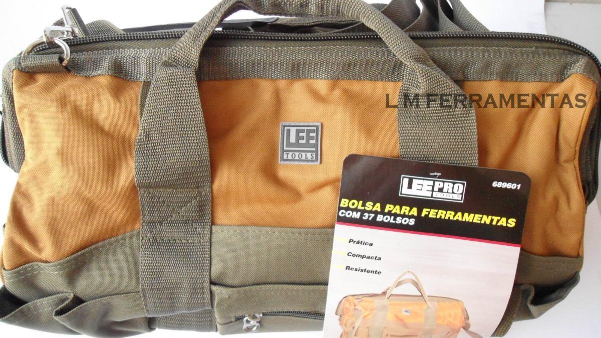 Bolsa De Lona Para Carregar Ferramentas : Bolsa p ferramentas em lona bolsos c fundo falso r