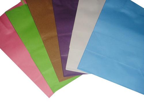 bolsa papel con asa regalo envoltura kraft vintage recuerdo