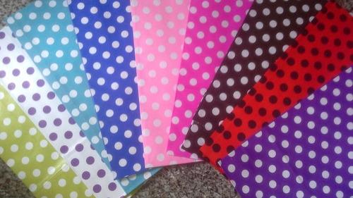 bolsa papel lunares x 30 sin manija cumpleaños souvenir
