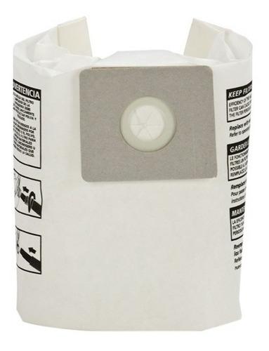 bolsa para aspiradora 4 galones paquete con 3 pzs shop vac