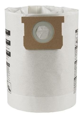 bolsa para aspiradora 5-6-8 gal paquete con 3 pzs shop vac