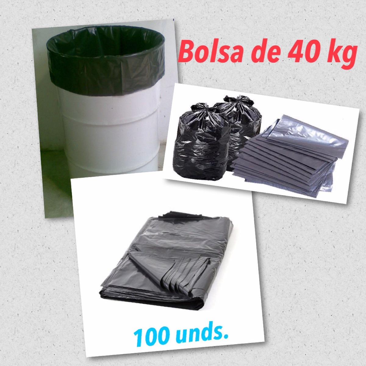 Bolsas plasticas para basura al mejor precio 40kg 30kg en