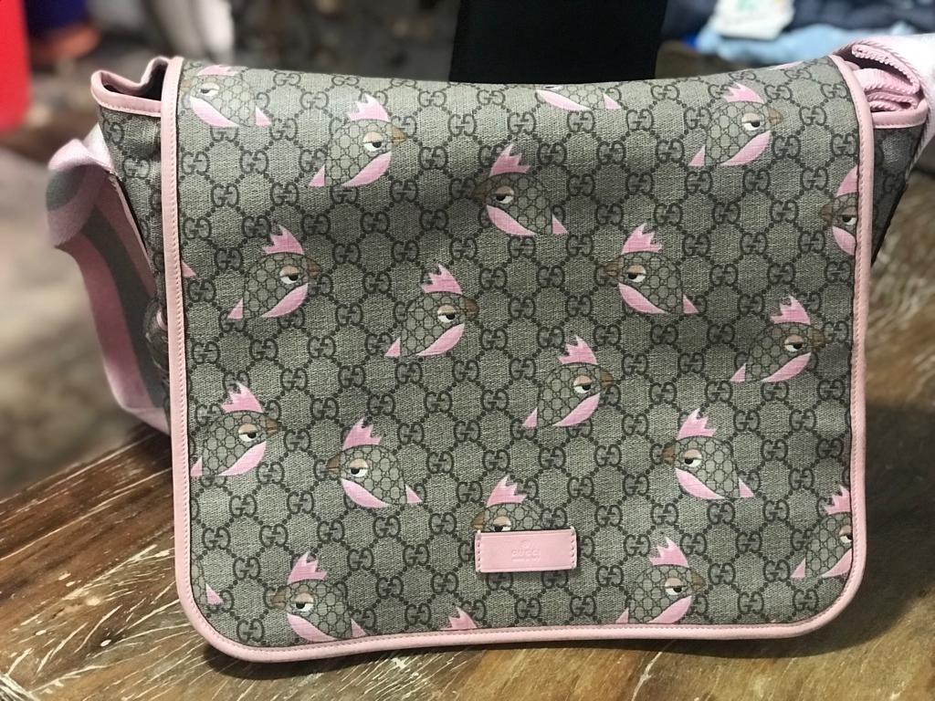 1f9c087b8 Bolsa Para Bebe Gucci - R$ 1.300,00 em Mercado Livre