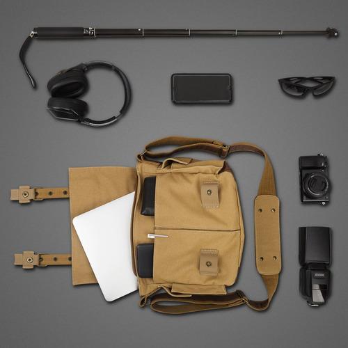 bolsa para cámara, esddi cámara dslr bolsa de lona con almac